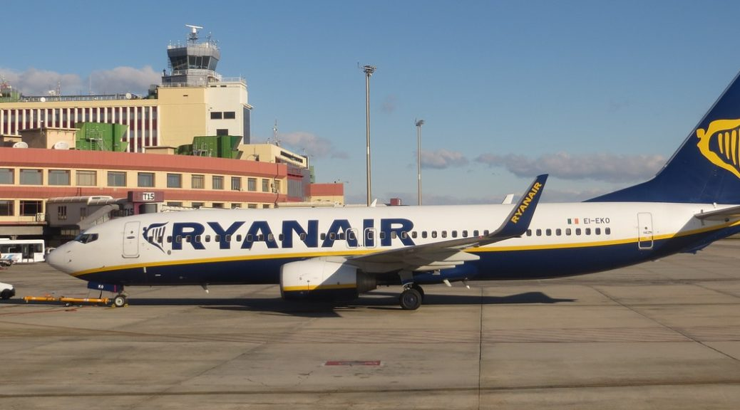 ryan air avion