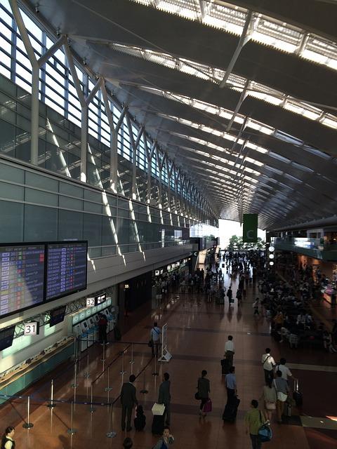 haneda japan aerodrom