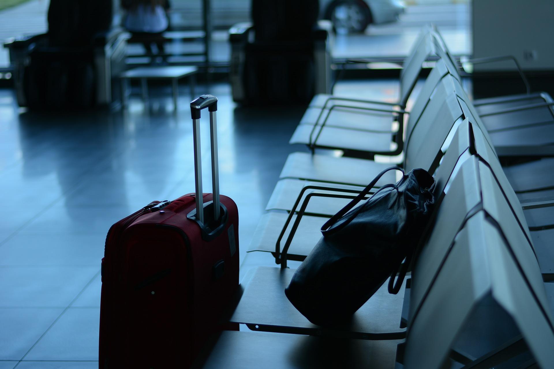 kofer, fotografija, žalba, aerodrom, avio kompanija