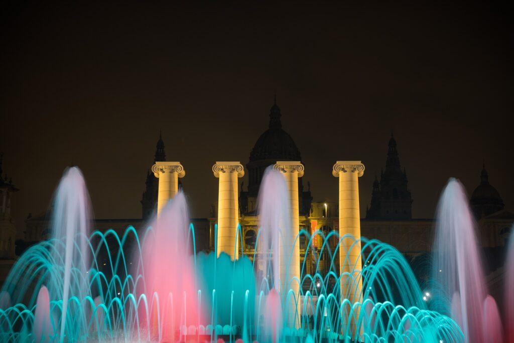magična fontana, barselona