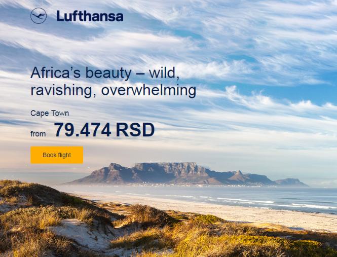 Lufthansa Kejptaun